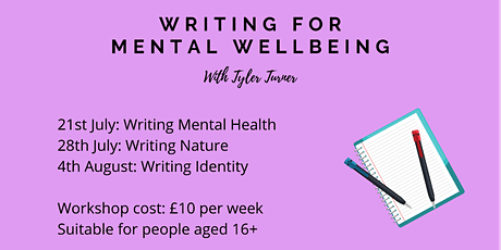 Writing for Mental Wellbeing: Writing Identity tickets