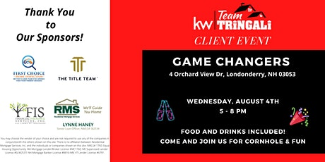 Team Tringali Client Event tickets