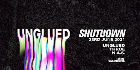 Shutdown: Unglued tickets