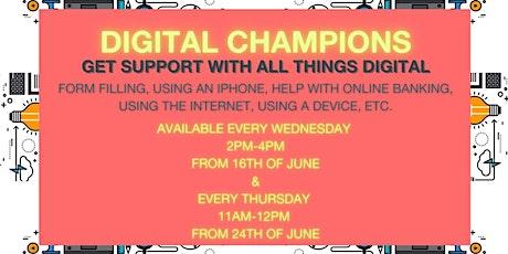 Digital Champions tickets