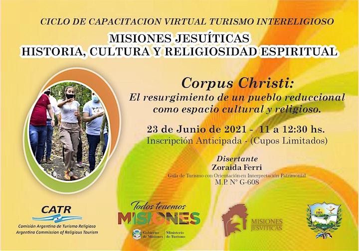 Imagen de Corpus Christi   Misiones Jesuíticas: Historia, Cultura y Religiosidad