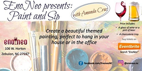 EnoNeo Presents: Paint and Sip With Amanda Cruz tickets