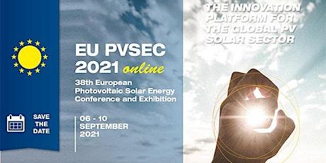 38th European Photovoltaic Solar Energy Conference and Exhibition, EU PVSEC tickets