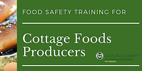 CSU Extension Colorado Cottage Foods Training (ON-LINE) tickets