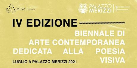 Vernissage - Luglio a Palazzo Merizzi 2021 biglietti