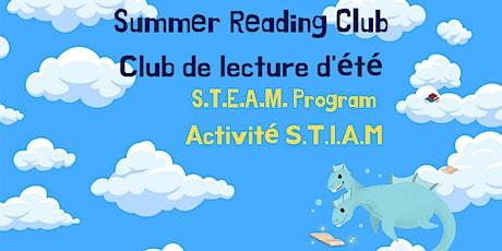 Wednesday SRC S.T.E.A.M program / Activité S.T.I.A.M. (mercredi) tickets