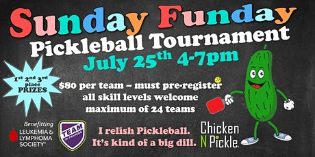 Sunday Funday Pickleball Tournament tickets