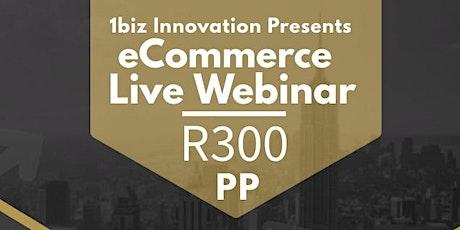 eCommerce Live Webinar tickets