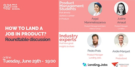 Wild Talk - How to land a Job in Product? ingressos