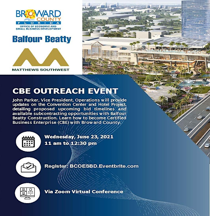 Broward County Convention Center and Hotel Project Meet & Greet image