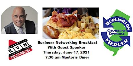 Business Networking Breakfast w/Guest Speaker (In-Person Event) tickets