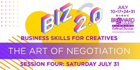 Business Skills for Creatives: The Art of Negotiation tickets