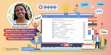 Improving Creativity in Language Learning Through Learnhip tickets