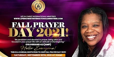 Fall Prayer Day 2021 tickets