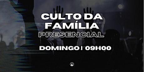 Culto da Familia - 13/06 às 9h00 ingressos