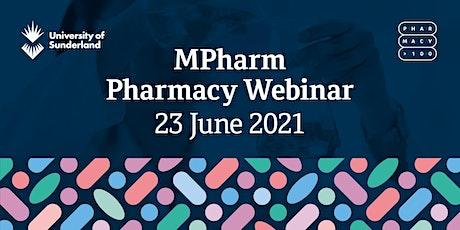 University of Sunderland - MPharm Pharmacy Webinar (June) tickets
