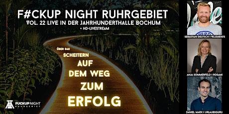 FvckUp Night Ruhrgebiet Vol. 22 in Bochum Tickets