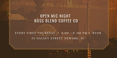 Open Mic at Boss Blend Coffee Co. tickets