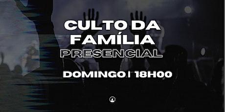 Culto da Família - 13/06 às 18h00 ingressos
