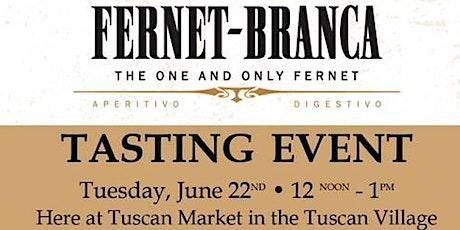 Tuscan Market Tasting Event tickets