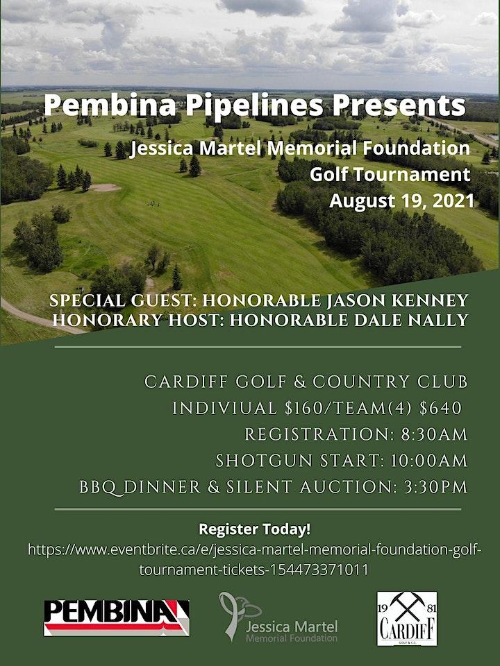 Jessica Martel Memorial Foundation Golf Tournament image