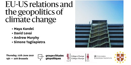 EU-US relations and the geopolitics of climate change biglietti