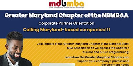 Maryland Black MBA - Corporate Partner Orientation biglietti