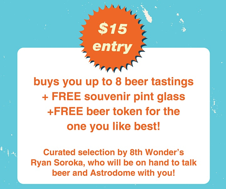 Toast to the Dome: Beer Tasting at 8th Wonder image