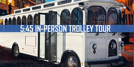 June's Gallery Night: 5:45pm TROLLEY Tour tickets