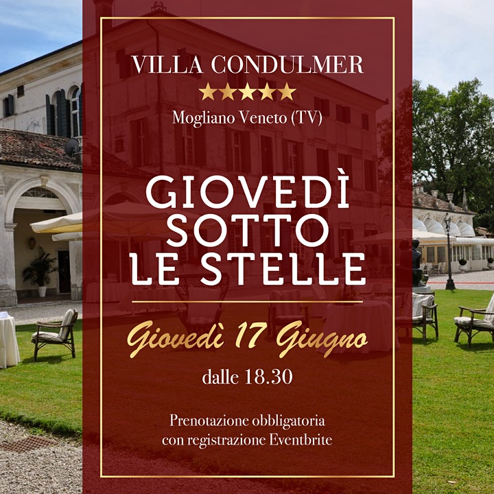 Immagine GIOVEDI' SOTTO LE STELLE - Villa Condulmer 17 Giugno