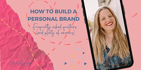 How To Build a Personal Brand tickets