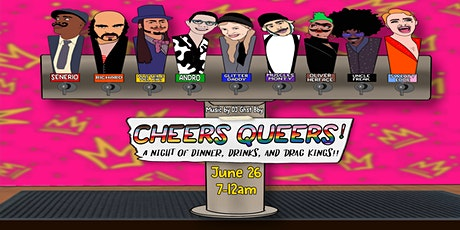 Cheers Queers!  Drag King Show tickets