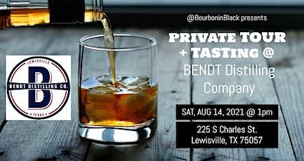 August Tour & Taste - Bourbon in Black tickets