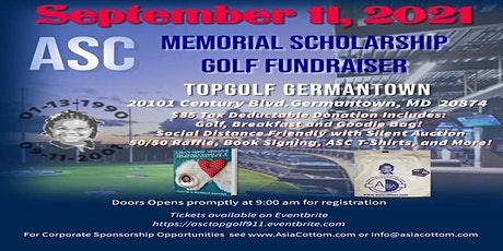 ASC 20th Anniversary Top Golf Fundraising Event tickets