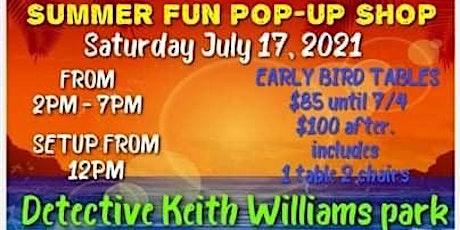 SUMMER FUN POP-UP SHOP tickets