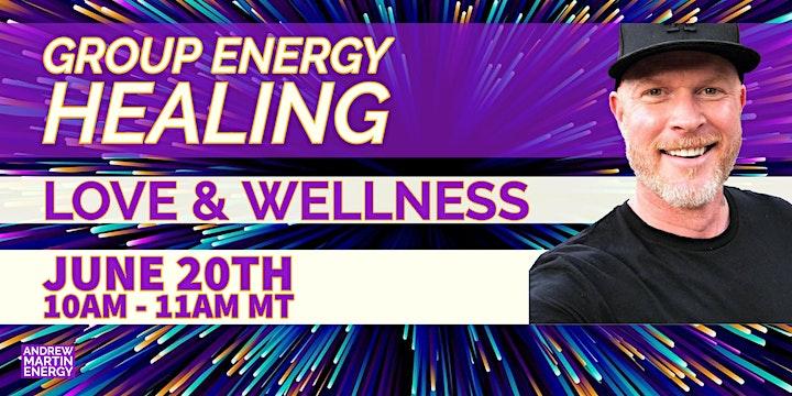 Love and Wellness - Group Energy Healing image