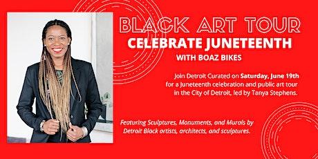 Celebrate Juneteenth with Detroit Curated: Detroit Black Public Art Tour tickets