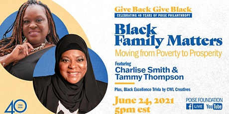 Black Family Matters: Moving from Poverty to Prosperity tickets