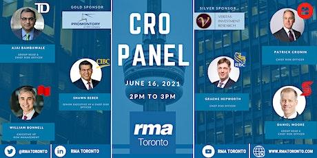 RMA Toronto - CRO Panel tickets