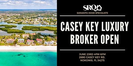 Casey Key Luxury Broker Open tickets