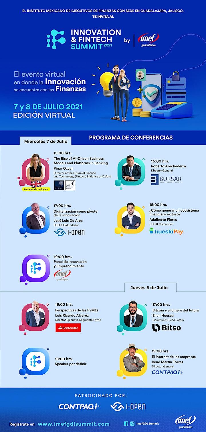 Imagen de Innovation & Fintech Summit 2021 by IMEF Guadalajara