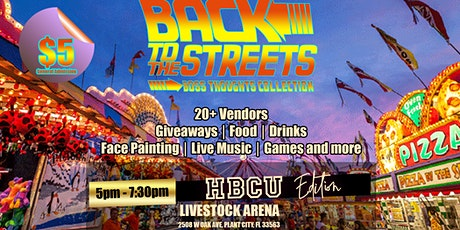 BACK TO THE STREETS COMMUNITY EVENT tickets