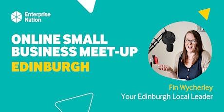 Online small business meet-up: Edinburgh tickets