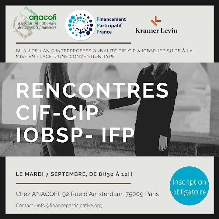 Image pour Rencontres CIF-CIP & IOBSP-IFP