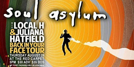 Soul Asylum - Back in Your Face tickets