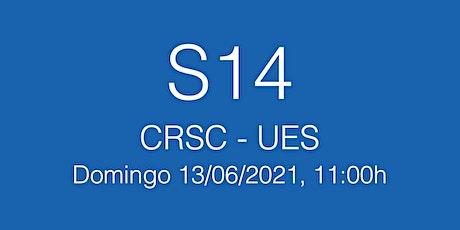 Final Copa Catalana S14 CRSC - UES, domingo  13/06/21 - 11.00h tickets