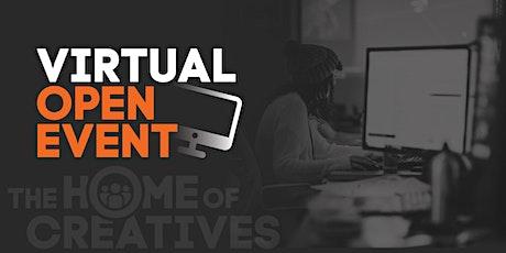 SAE Institute UK Virtual Open Event tickets