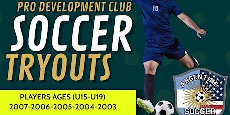 UPSL TRYOUTS U15 U17 U19 PRO DEVELOPMENT TEAM 2021 tickets