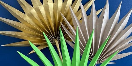 Kirigami Paper Fan Palms with Aimee Designs tickets