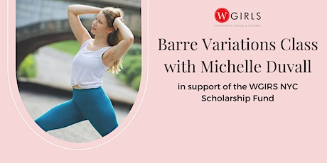 Barre Variations Virtual Class tickets